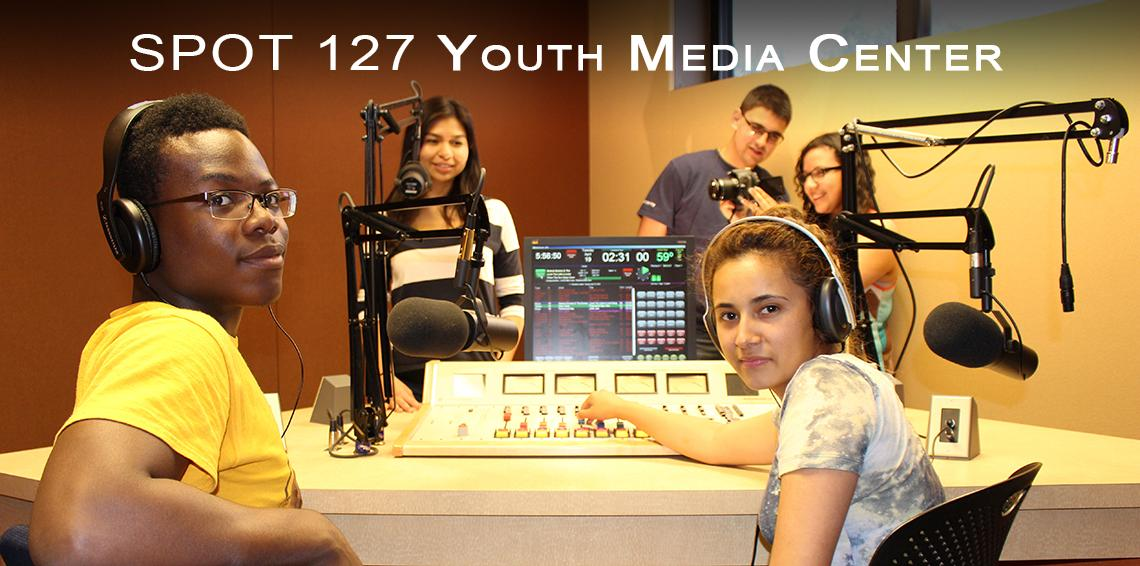 Spot 127 students in the studio