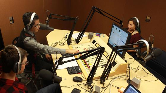 Radio Studio SPOT West